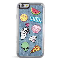 Riot Denim Print Emoji iPhone 6/6s Case