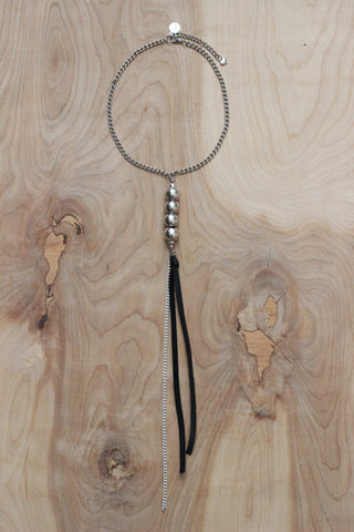 Disco Drop Necklace
