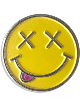 Metal Smiley Patch