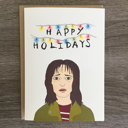 Stranger Holidays Card
