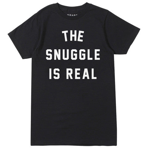 The Snuggle Is Real Tee in Black