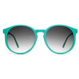 The Human Fly Sunglasses in Matte Turquoise
