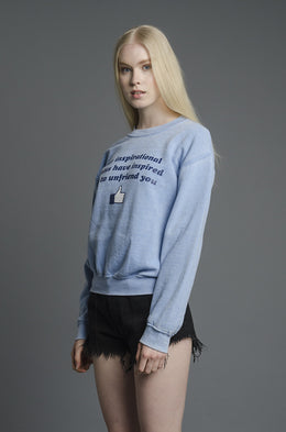 Unfriend Sweatshirt View 2