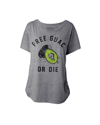 Free Guac or Die T-Shirt