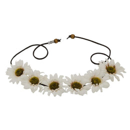 The Marianna Daisy Flower Crown in White