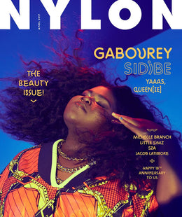 Gabourey Sidibe, April 2017
