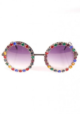 Retro Glam Holiday Sunglasses