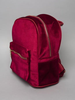 Red Velvet Backpack View 2