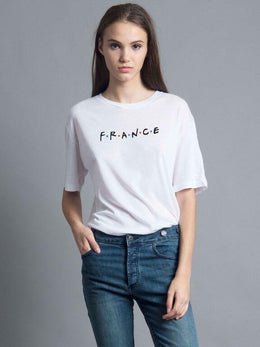 France Oversized Tee