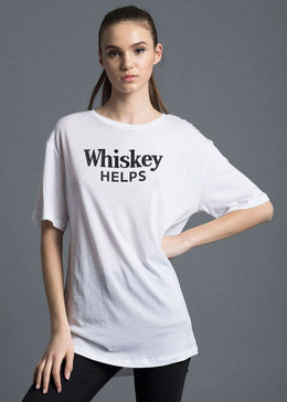 Whiskey Helps Tee
