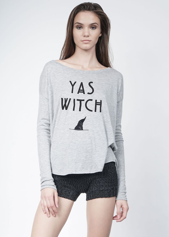 Yas Witch Long Sleeve Tee
