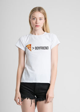 Pizza Priorities Fitted Tee