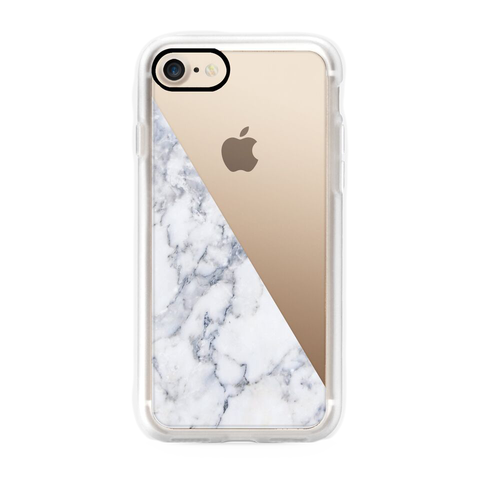 iPhone 7 Case with Marble Side