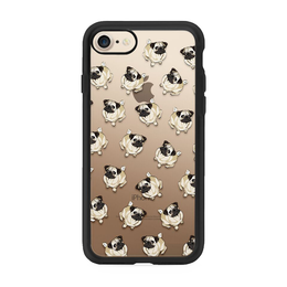 iPhone 7 Case Pug Pattern