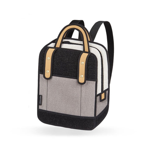Woolen Backpack in Grey