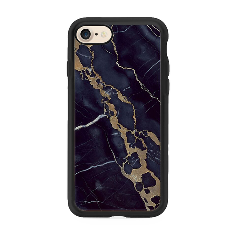 iPhone 7 Navy Shatter Marble Case
