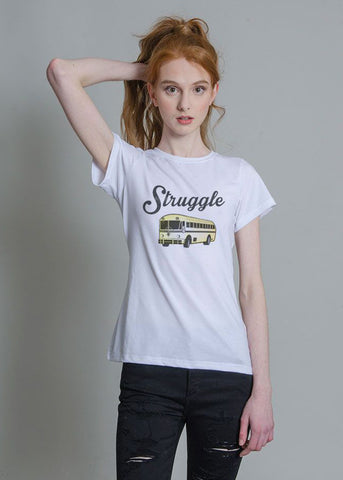Struggle Bus Fitted Tee
