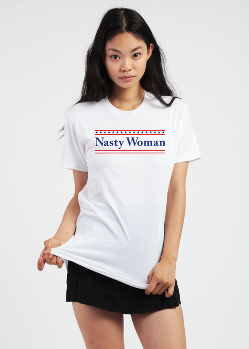 Nasty Woman Oversized Tee