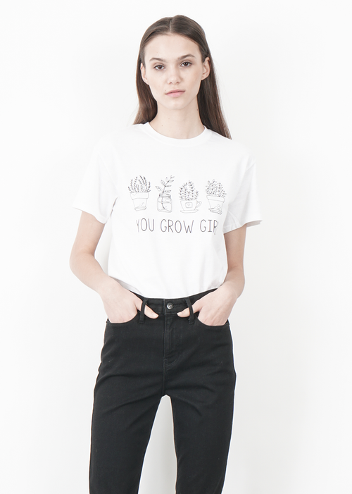 You Grow Girl Tee