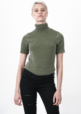 Georgia Glitter Turtleneck