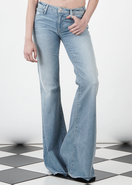 Ex Boyfriend Flare Jeans in Light Wash