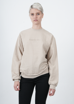 South Side France Embroidered Crewneck