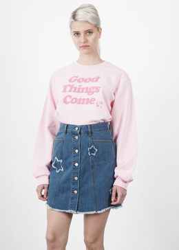 Good Things Come Crewneck