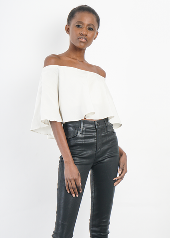 Peta Off-Shoulder Top **Pre-Order, Ships 12/15**