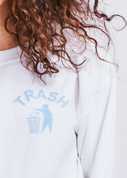 Trash Crewneck View 2