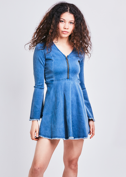Alexa Denim Dress