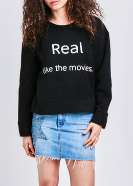Real Pullover in Black