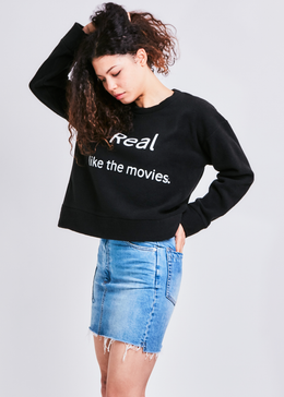 Real Pullover in Black View 2