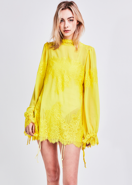 Queen for a Day Dress in Lemonade View 2