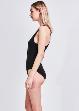 Drinks Well Bodysuit (Black) View 2