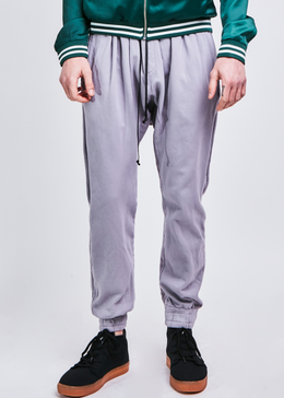 roaming track pant / purple grey
