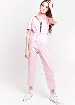 Jane Jumpsuit in Pink