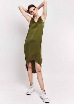 Atlas Dress in Olive
