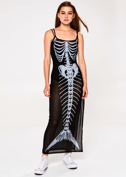 Bone Deep Iridescent Dress