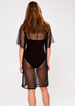 Pegasus Sheer Frill Dress View 2
