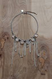 Liquid Disco Necklace in Silver View 2