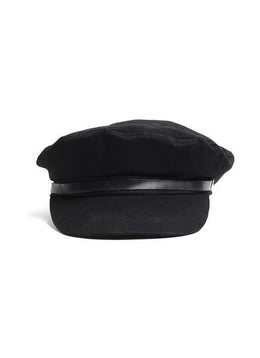 TONI PAGE BOY HAT (BLACK)