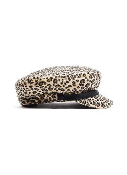 TONI PAGE BOY HAT (LEOPARD) View 2
