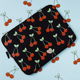 "Cherry Bomb 13"" Laptop Sleeve View 2"
