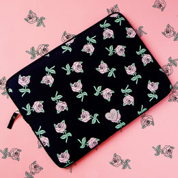 "Florecita 13"" Laptop Sleeve View 2"