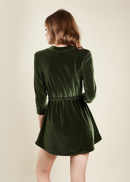 Winona Dress in Green View 2