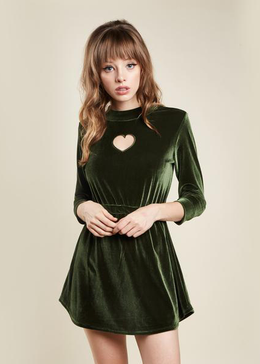 Winona Dress in Green