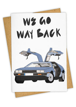 Way Back Greeting Card