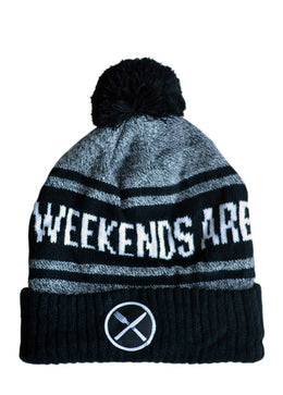 Weekends Are For Waffles Beanie View 2