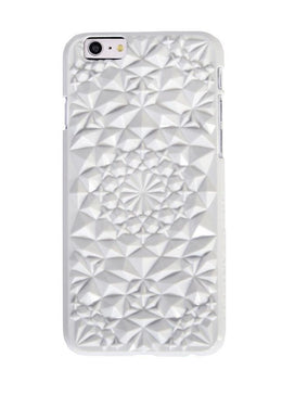White Kaleidoscope iPhone Case