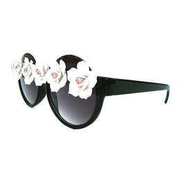 White Floral Sunnies LADY12K-4 View 2